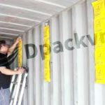 dây hút ẩm treo container