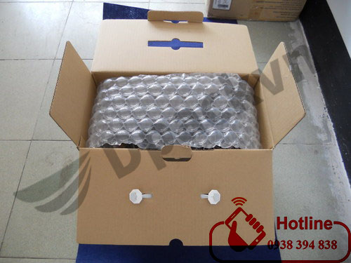 túi khí chèn thùng carton