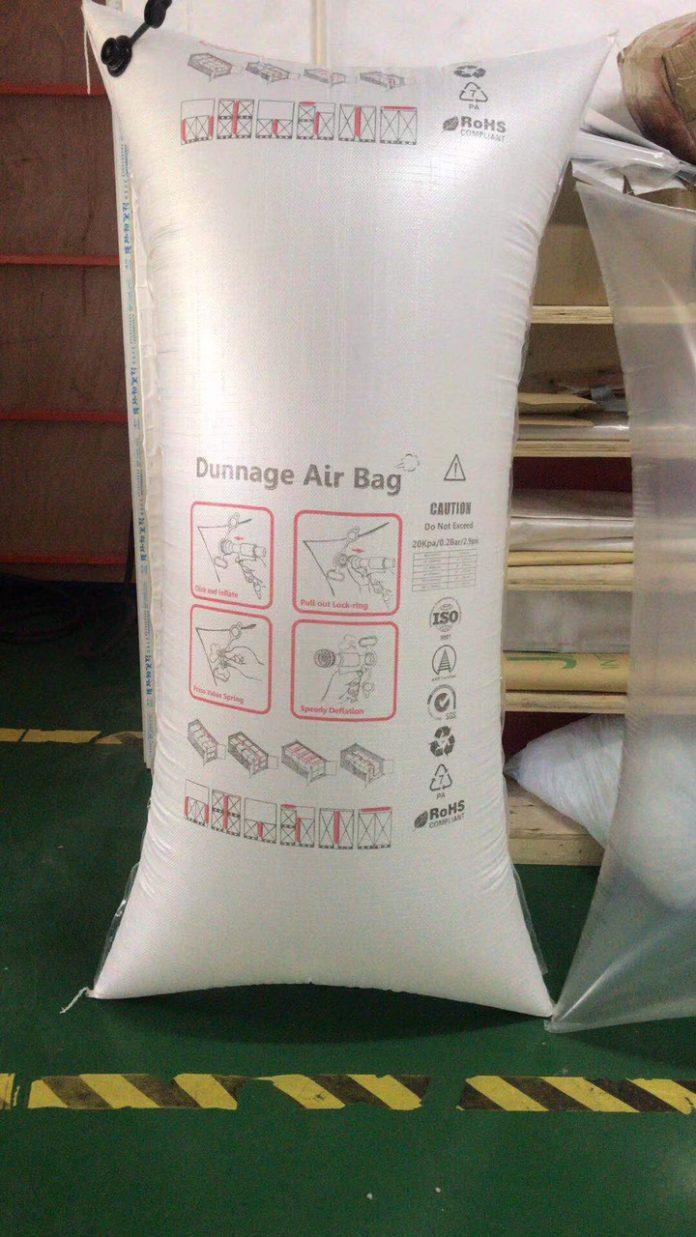 Túi khí PP chèn hàng